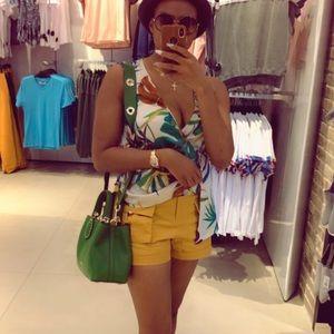Multi colour fashion blouse